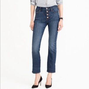 J. Crew Straightaway Blue Jeans Button Fly 553